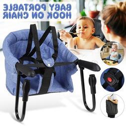 Portable Baby Dining Highchair Foldable Feeding Travel Chair