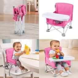 Portable Booster Seat Pop N Sit For Infant Baby Toddler Camp