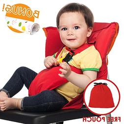 Portable Travel Baby High Chair Feeding Booster Safety Seat