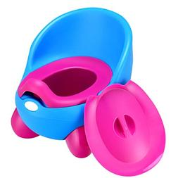 Costzon Portable Baby Potty Toilet Chair, Toddlers QQ Egg Tr