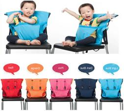 Portable Travel Foldable Washable Baby Infants Dining High C