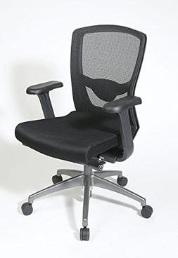Office Star Products ProGrid High-Back Chair with Adjustable