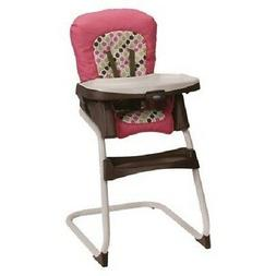 Graco Ready2Dine High Chair and Portable Booster In Darla Br