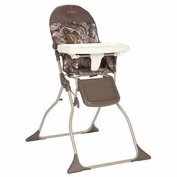 Realtree Full Size High Chair Brown Compact Portable Baby El
