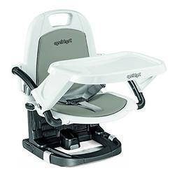 rialto ice grey chair booster