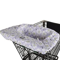 Balboa Baby Shopping Cart and High Chair Cover - Lavender Po