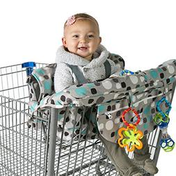 Kiddlets Shopping Cart High Chair Cover for Baby, Includes C