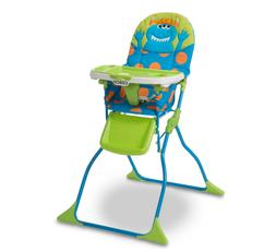 Cosco Simple Fold Baby Toddler Deluxe High Chair in Monster