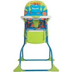 Cosco Simple Fold Deluxe High Chair - Monster Syd