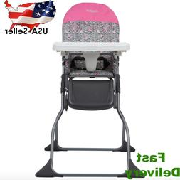 Simple Fold™ Full Size High Chair with Adjustable Tray Por