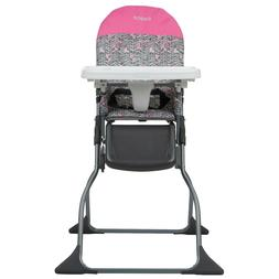 Simple Fold Full Size High Chair with Adjustable Tray