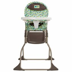 Cosco Simple Fold High Chair with 3-Position Tray, Elephant