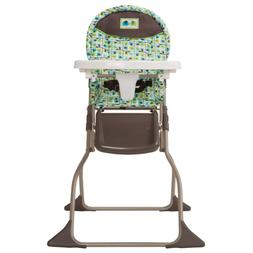 Cosco Simple Fold High Chair with 3-Position Tray Elephant S