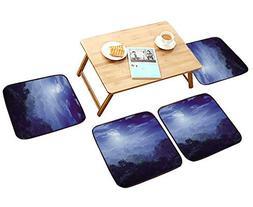 HuaWu-home Simple Modern Chair Cushions Moonlight Covers Jun