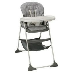 Graco Slim Snacker High Chair Fast Fold Seat Full-sized Tray