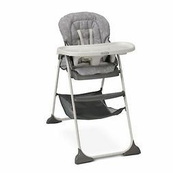 Graco Slim Snacker High Chair | Ultra Compact High Chair, Wh