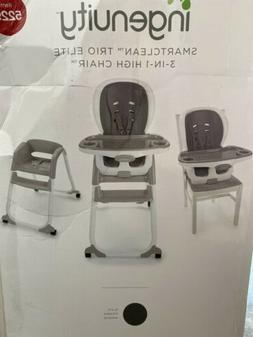 Ingenuity SmartClean Trio Elite 3-in-1 Baby High Chair Boost
