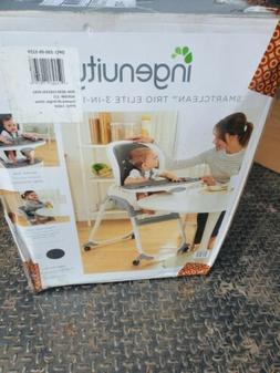⭐ Ingenuity SmartClean Trio Elite 3-in-1 High Chair - Slat