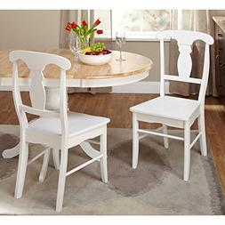 solid wood empire dining chairs