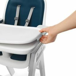 OXO Tot OXO Tot Sprout Chair with Tray Cover, Navy and Gray