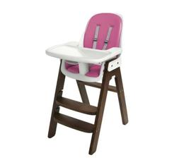 OXO Tot OXO Tot Sprout Chair with Tray Cover, Pink and Walnu