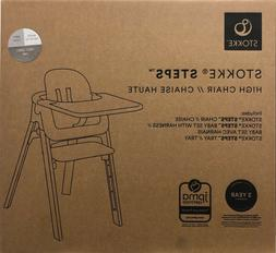 Stokke Steps 5-in-1 Seating System Baby High Chair w/ Baby S