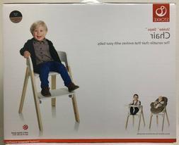Stokke Steps Adjustable Versatile Baby High Chair w/ Black S