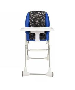 symmetry flat fold high chair hayden dot