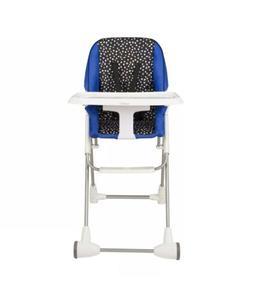 Evenflo Symmetry Flat Fold High Chair Hayden Dot Brand New
