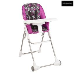 Evenflo Symmetry Flat Fold High Chair in Daphne Brand New NO