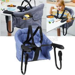 Table Hook Clip-On Chair Hook Baby Highchair Foldable Feedin