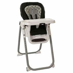 Graco TableFit Rittenhouse High Chair, Black/White