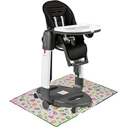 Peg Perego - Tatamia High Chair Stripes Black With Splat Mat