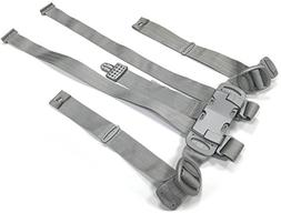 Peg Perego Tatamia Highchair Replacement Straps Harness Grey