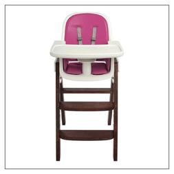 OXO Tot Sprout High Chair, Pink/Walnut