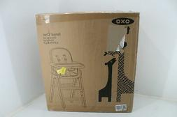OXO Tot Sprout Chair w Tray Cover Gray Walnut Brown 5 Point