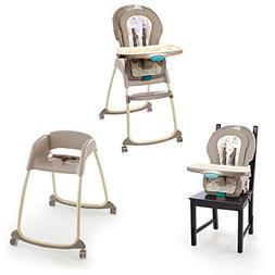 Ingenuity Trio 3-in-1 Deluxe High Chair-Sahara Burst by Inge
