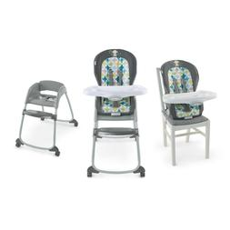 Ingenuity Trio 3-in-1 High Chair Toddler Booster Seat Grow w