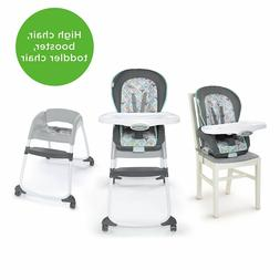 Ingenuity Trio 3-in-1 High Chair, Toddler Chair, Booster - B