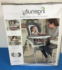 Ingenuity Trio Elite 3-in-1 High Chair Braden Convert Toddle