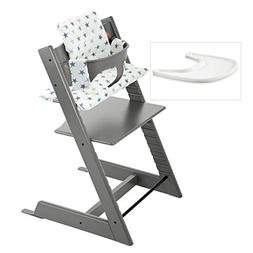 Stokke Tripp Trapp High Chair Complete 4-Piece Bundle