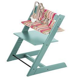 Stokke Tripp Trapp High Chair & Tripp Trapp Cushion Candy St