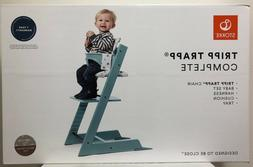 Stokke Tripp Trapp Complete Baby High Chair with Baby Set Ha