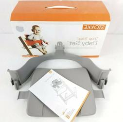 Stokke Tripp Trapp High Chair Baby Set Attachment Storm Grey