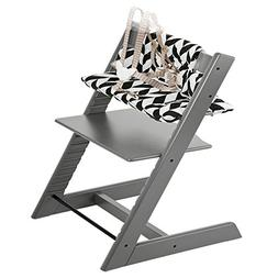 Stokke Tripp Trapp Highchair & Tripp Trapp Cushion Black Che