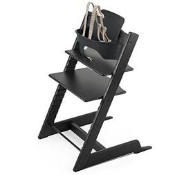 Stokke Oak Tripp Trapp Chair, Oak Black