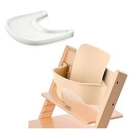 Stokke Tripp Trapp Baby Set - Natural & Tray - White