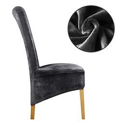 TomTomPro Velvet Fabric Europe Long High King Back Chair Cov