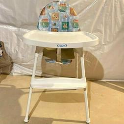 Graco Vintage 1980s Slim High Chair Retro Colorful Print Cov