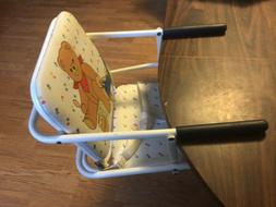 Vintage GRACO Tot Loc Booster Seat Portable hook on high cha